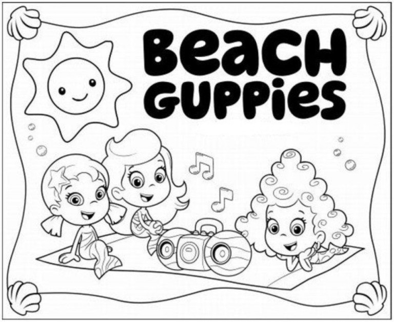 Printable Bubble Guppies