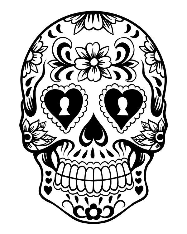 printable day of dia de los muertos
