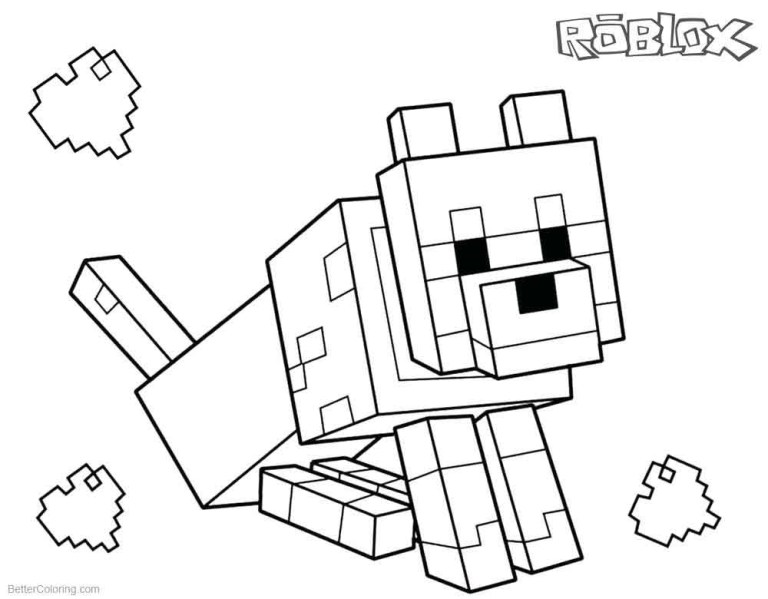 Roblox Logo Coloring Pages