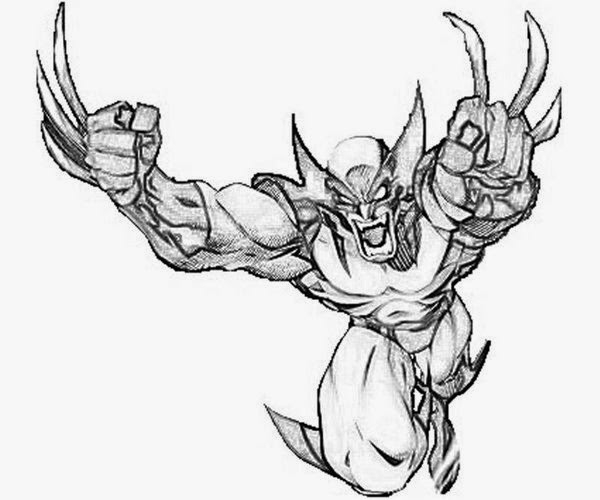 seeing action from wolverine image