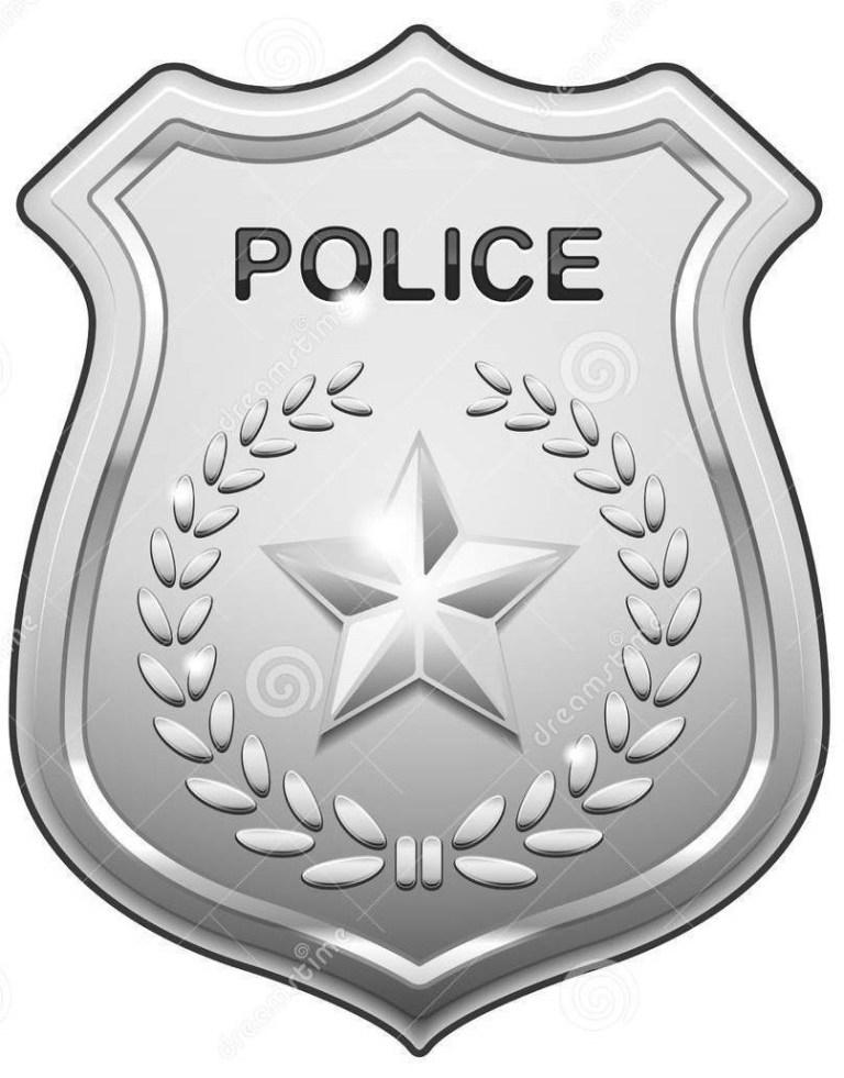 Sheriff Badge Outline