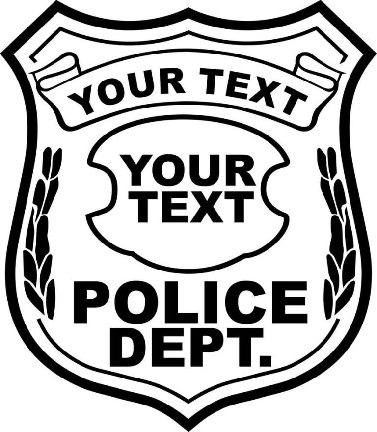 Sheriff Badges Printable