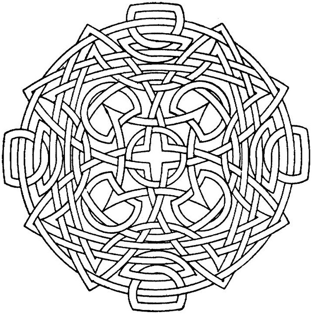 simple geometric shapes cartoon coloring