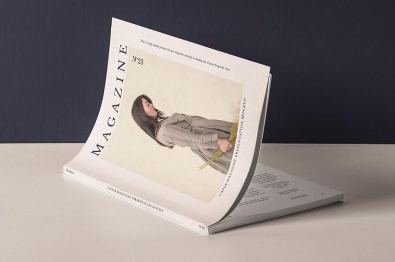 Single Page Print Ad Mockup