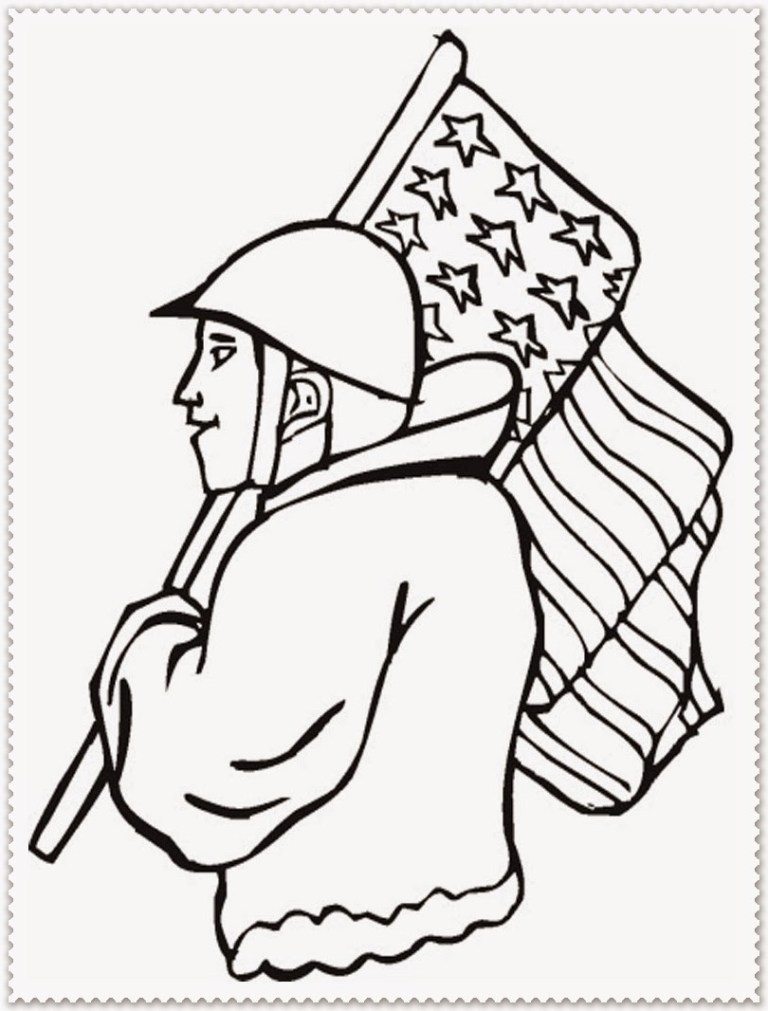 Veterans Day Coloring
