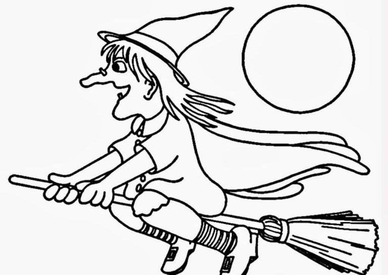Witch Coloring