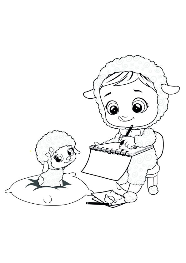 Babies Coloring Page