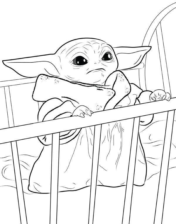 Baby Yoda Printable Pictures