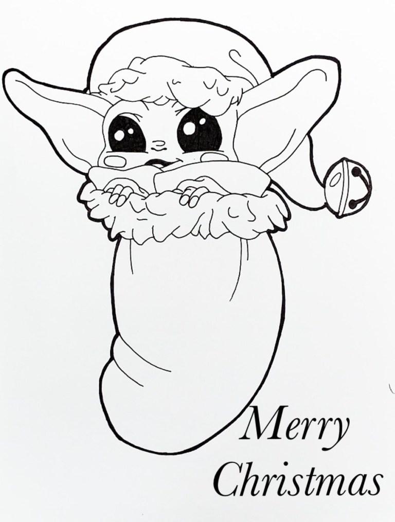 Baby Yoda Printables