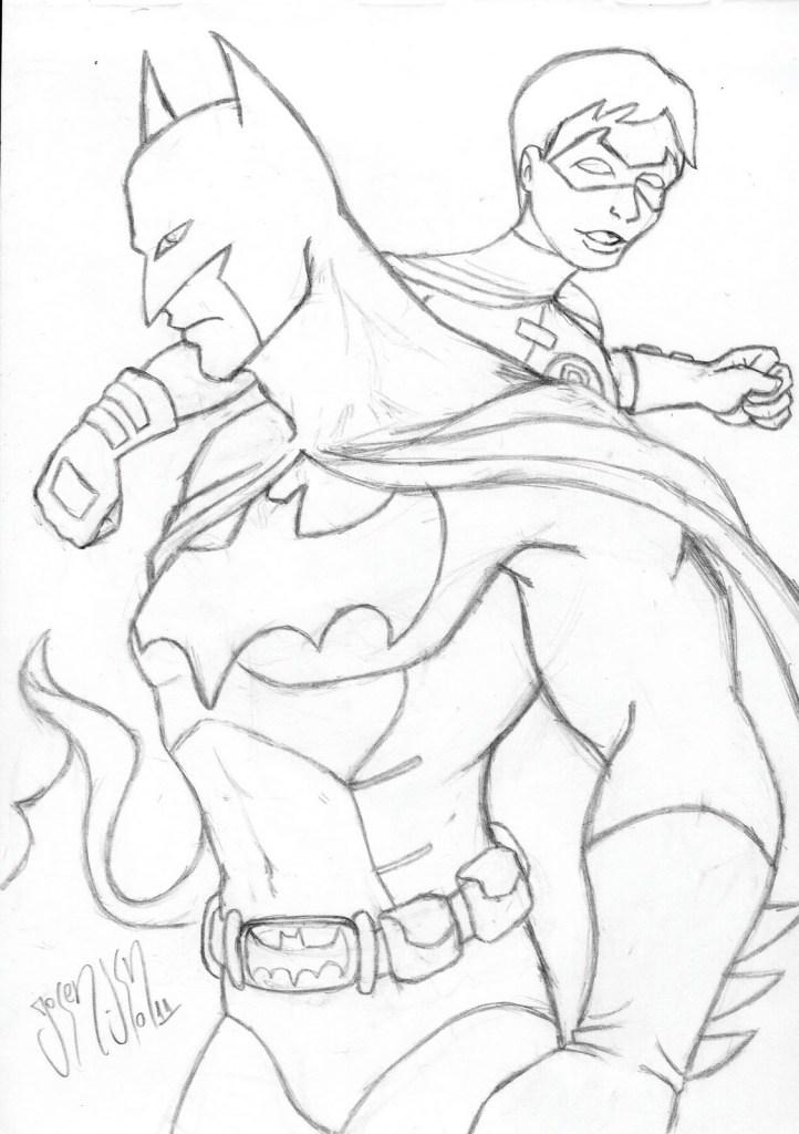 Batman And Robin Colors