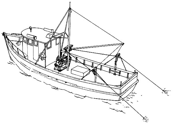 Boat Coloring Pages For Toddlers