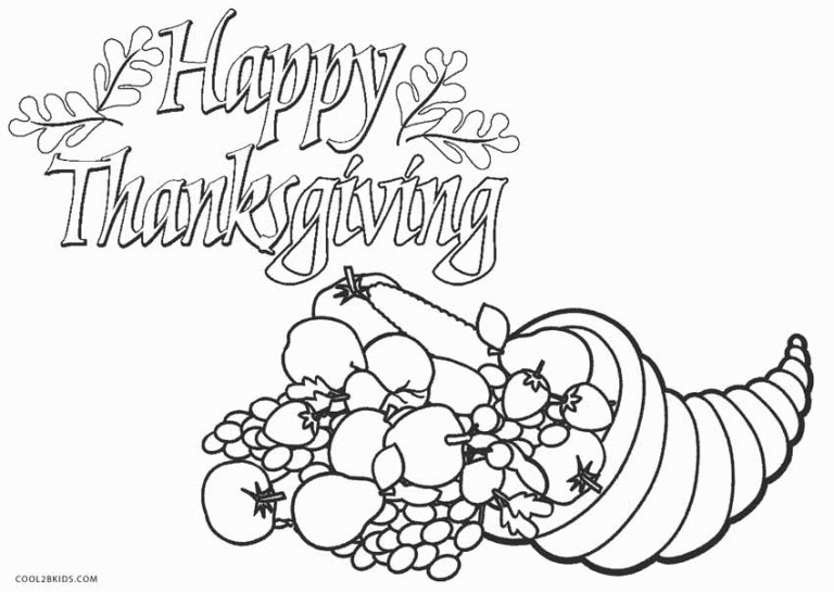 Charlie Brown Thanksgiving Coloring Pages Free
