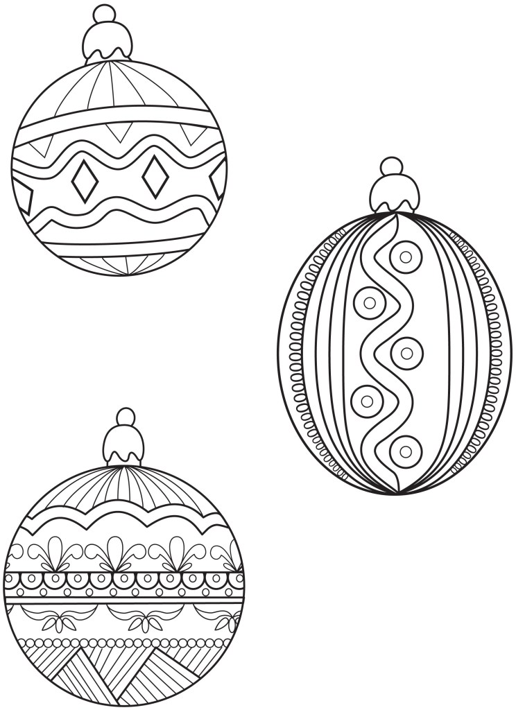 Christmas Sock Coloring Pages