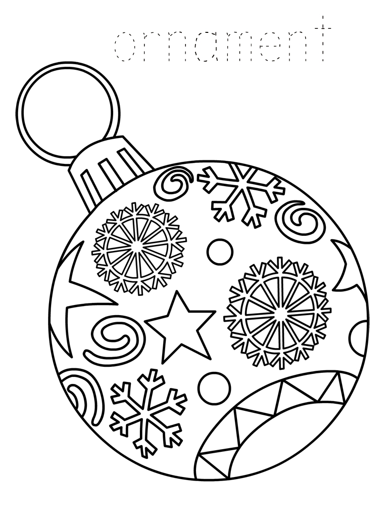 Christmas Socks Coloring Pages