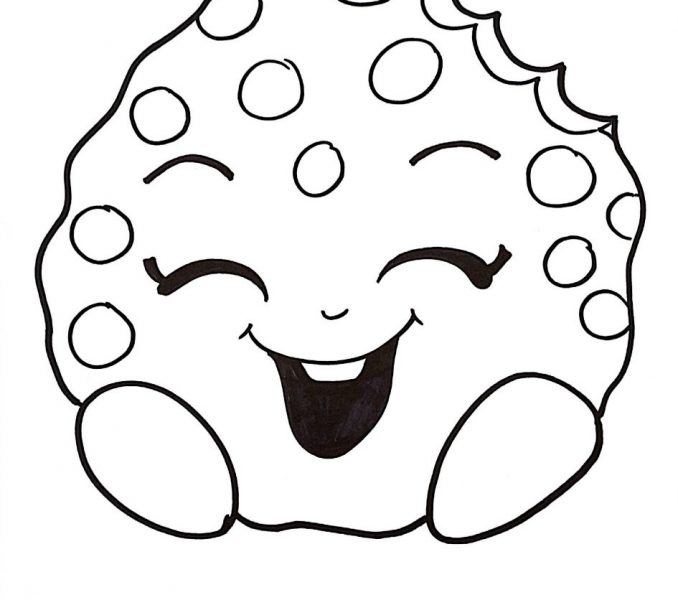 Coloring Pages Cookies