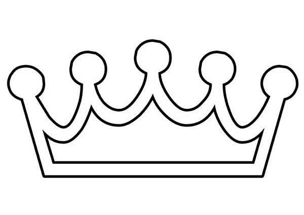 Coloring Pages Of Crowns