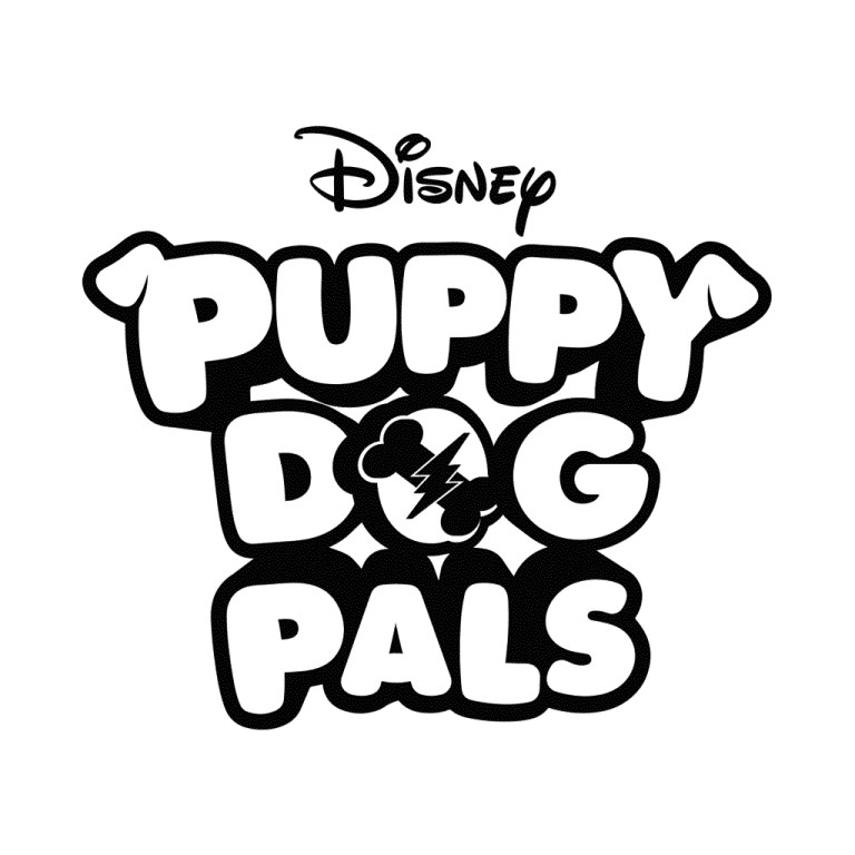 Coloring Pages Puppy Dog Pals