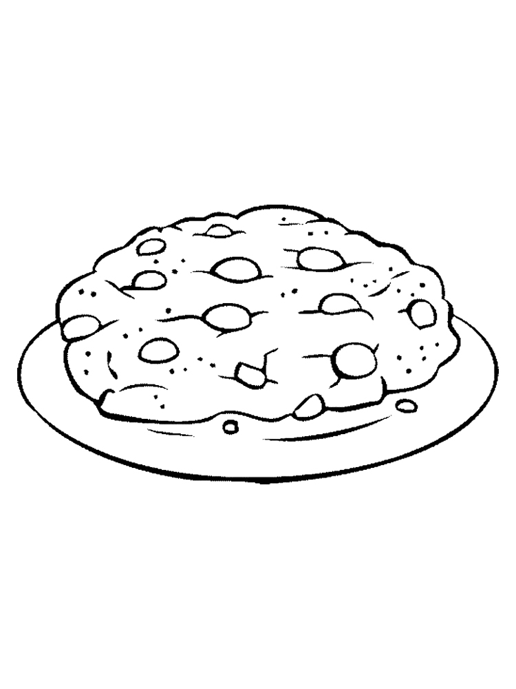 Coloring Pictures Of Cookies