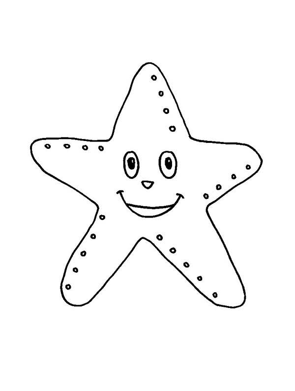Coloring Starfish