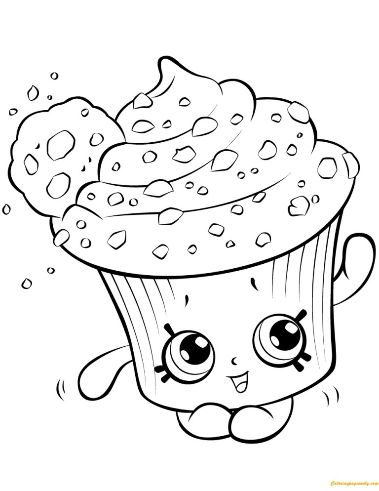 Cookies Coloring Pages