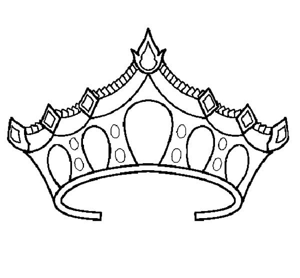 Crown Color Sheets