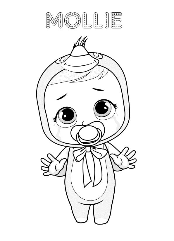 Cry Babies Magic Tears Coloring Pages