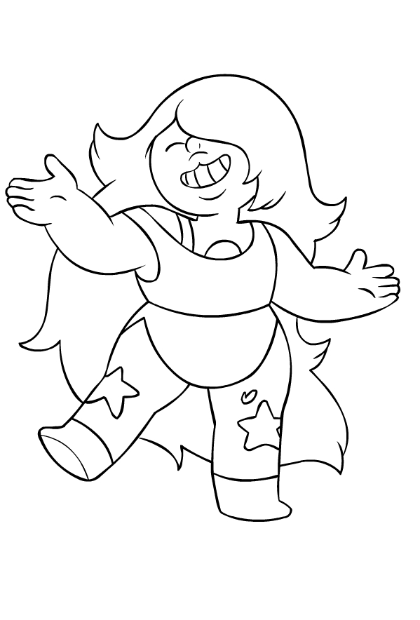 Crystal Gems Coloring Pages