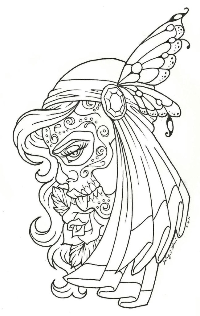 Day Of The Dead Free Printables