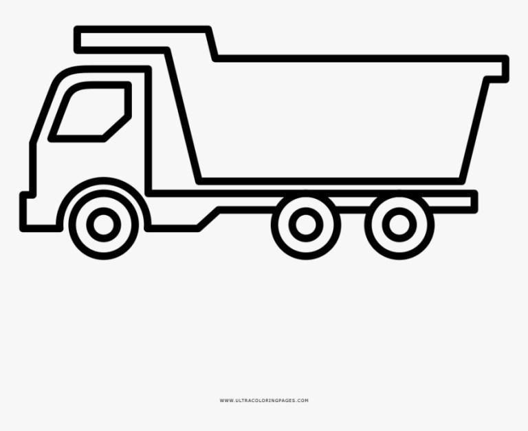 Dump Truck Color Page