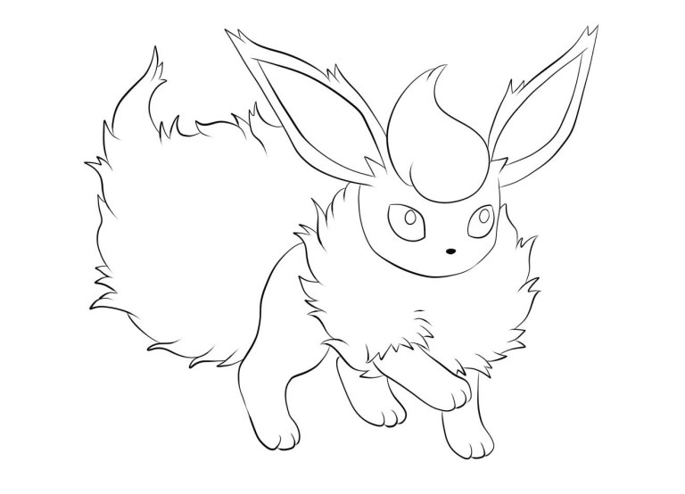 Evie Coloring Pages Pokemon