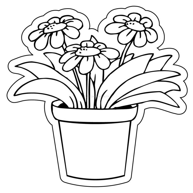 Flowerpot Template