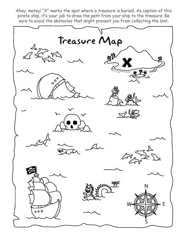 Free Printable Treasure Map Pdf