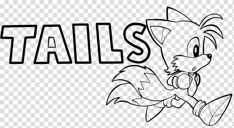 Free Tails Coloring Pages