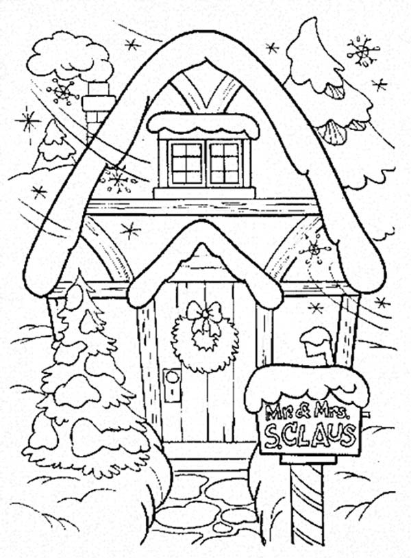 Gingerbread Woman Coloring Page