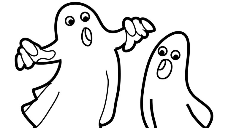 Halloween Coloring Pages Ghost