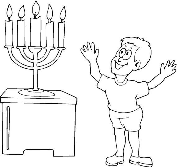 Hanukkah Pictures To Print