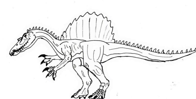 Jurassic Park T Rex Coloring Pages