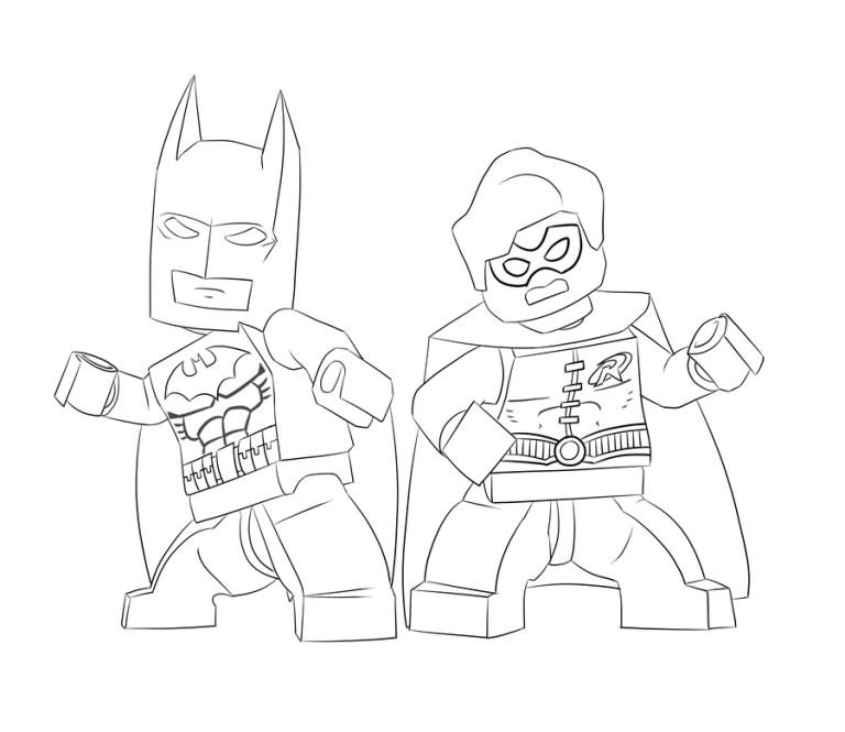 lego batman coloring pages free downloads online