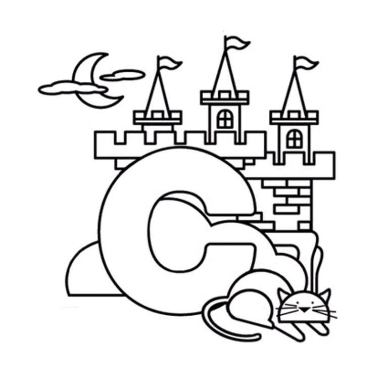Letter C Coloring