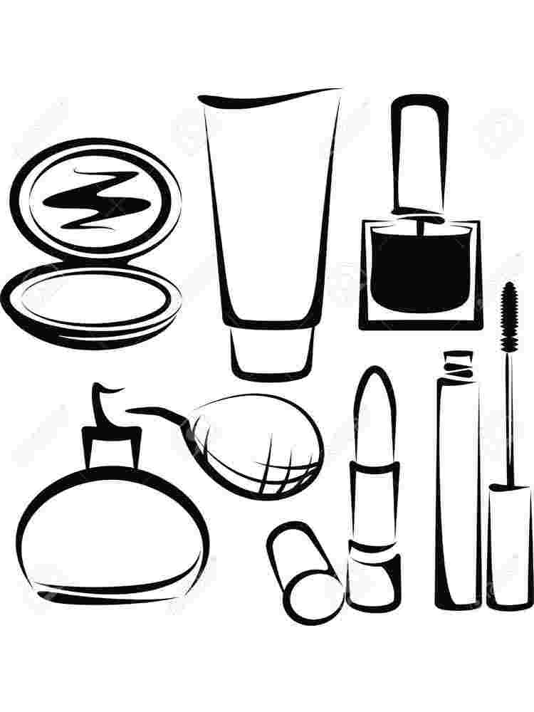 Make Up Coloring Pages