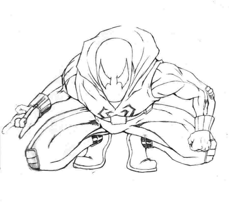 miles morales coloring pages free downloads