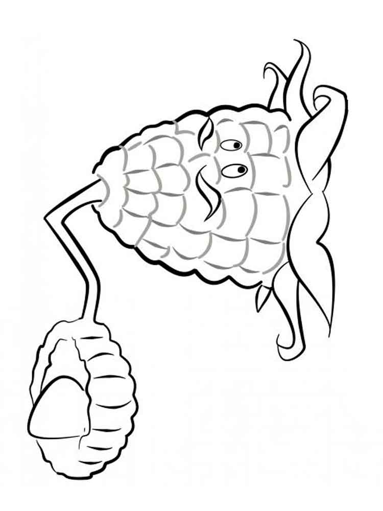 Peashooter Plants Vs Zombies Coloring Pages