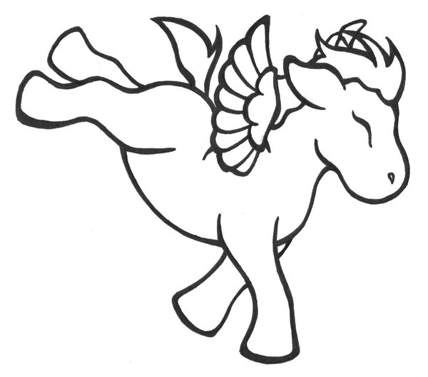 Pegasus Printable