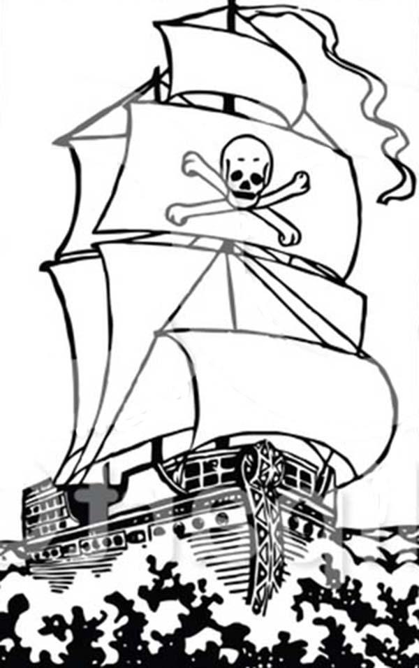 Pirates Color Pages