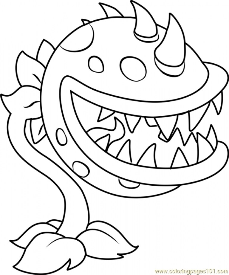Plants Vs Zombies Coloring Pages Sunflower