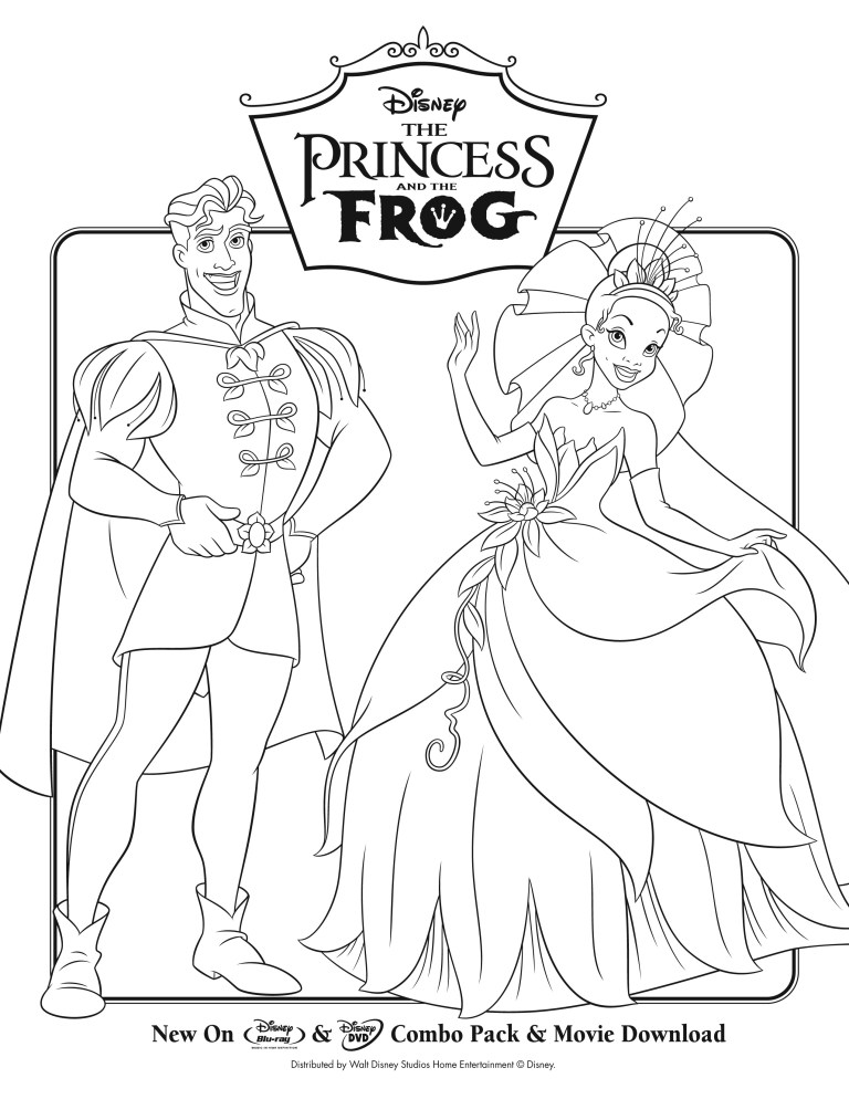 Princess And The Frog Colors