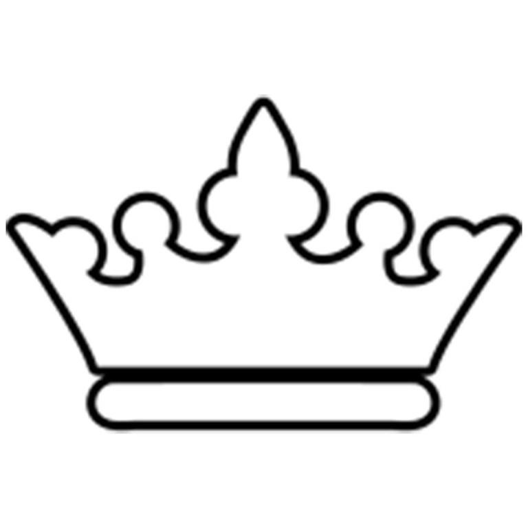 Printable Crown To Color