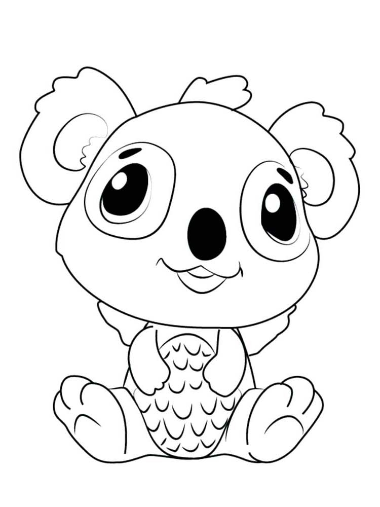 Printable Hatchimals Coloring Pages