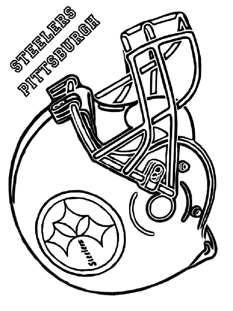 Printable Nfl Helmet Coloring Pages