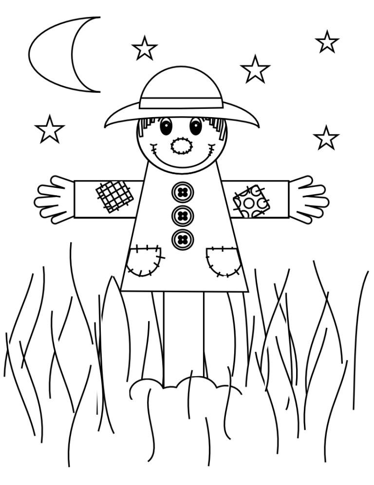 Printable Scarecrow